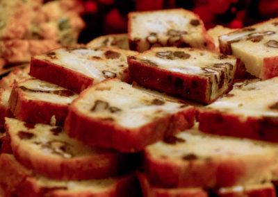 Cake au chèvre, aux noix et aux raisins