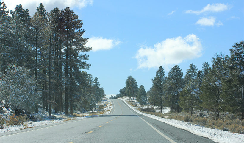 On the road to the Grand Canyon